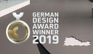 hönnunarverðlaun German Design Award Fletco